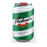 Radenska Sparkling Mineral Water Can 300ml
