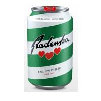 Radenska Sparkling Mineral Water Can 300ml