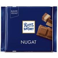 Ritter Sport Alpine Milk Chocolate Bar With Nougat 100g