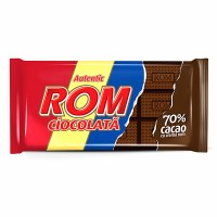 Kandia ROM Romanian Rum Chocolate Bar 70% Cocoa 88g
