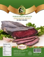 Sabah Hickory Smoked Dried Beef Strip Approx 0.8 lbs PLU 137 F