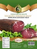 Sabah Hickory Smoked Beef Strip Dimljeni Govedji Vrat Approx. 1.2 lbs