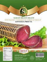 Sabah Hickory Smoked Dried Beef Govedja Prsuta Approx 1.2 lbs