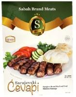 Sabah Beef and Veal Sarajevski Cevapi 40 links Approx 2 lbs F