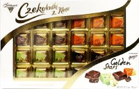 Solidarnosc Golden Stars Assorted Premium Chocolates 400g