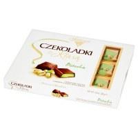 Solidarnosc Premium Pistachio Cream Filled Chocolate Squares 200g