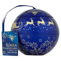 Solidarnosc Chocolate Plum Candy Ornament 190g