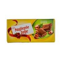 Stark Najlepse Zelje Hazelnut Pieces Chocolate 90g
