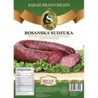 Sabah Hickory Smoked Dried Beef Sausage Bosanska Sudzuka Approx .75lb PLU 62 F
