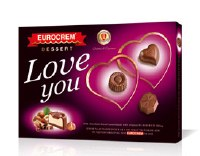 Swisslion Takovo Love You Eurocrem Chocolate Gift Box 160g