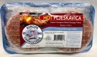 Europa Charcuterie Hot Pljeskavice 6pc 32oz