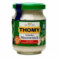 Thomy Delikatess Hot Horseradish 145g