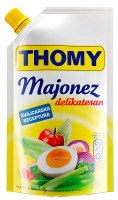 Thomy Delikatess Mayonnaise Squeeze Pouch 280ml