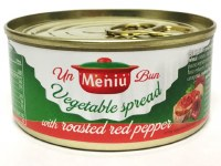 Un Meniu Bun Vegetable Pate with Peppers 120g