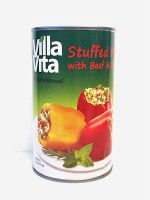 Villa Vita Stuffed Peppers with Beef and Rice in Sauce 670g