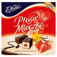E. Wedel Strawberry Jelly Marshmallow Squares 420g
