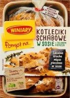Winiary Sauce for Pork Chops Cutlets with Green Peppers 44g