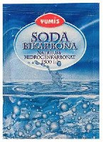 Yumis Baking Soda Sodium Bicarbonate 20g
