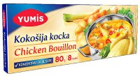 Yumis Chicken Flavored Bouillon Cubes 80g