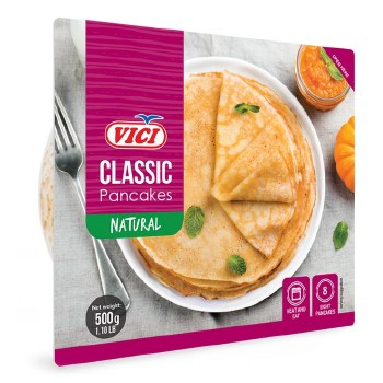 Vici Plain Natural Pancakes Crepes 500g F