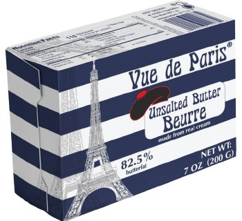 French Style Paris Unsalted Butter 200g R