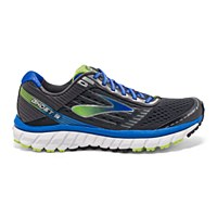 Brooks Men's Ghost 9 (Anthracite / Blue / Punch)