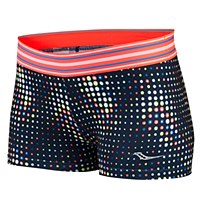 Saucony Women's Rock-It Tight Short (Midnight/ViZiPRO Electric)