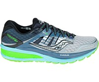 Saucony Women's Triumph ISO 2 Wide (Grey/Blue/Slime)