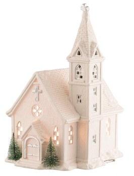 BELLEEK CHURCH LAMP