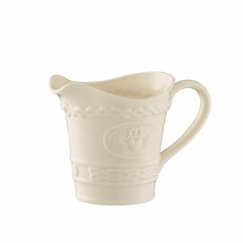 BELLEEK CLADDAGH/CONDIMENT JUG