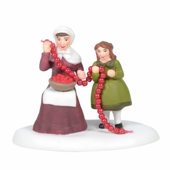 D56 NEW ENGLAND CHRISTMAS CRANBERRIES