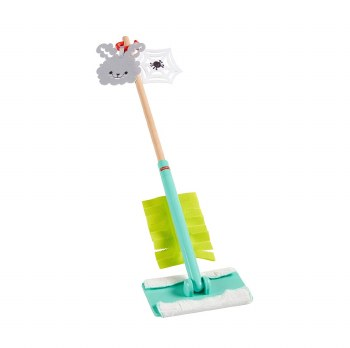 FISHER PRICE CLEAN UP & DUST SET