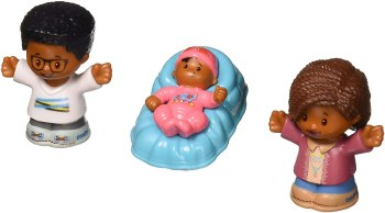 FISHER PRICE LITTLE PEOPLE HELPERS 3CT