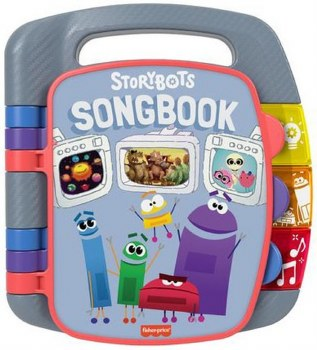 FISHER PRICE STORYBOTS SONGBOOK