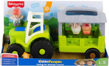 FP LITTLE PEOPLE ANIMAL TRACTOR