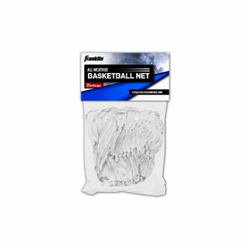 FRANKLIN BASKETBALL NET NYL. 12-L WHITE