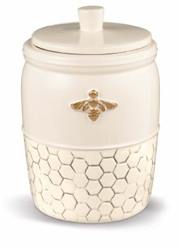 GRASSLANDS BEE LOVELY LARGE CANISTER
