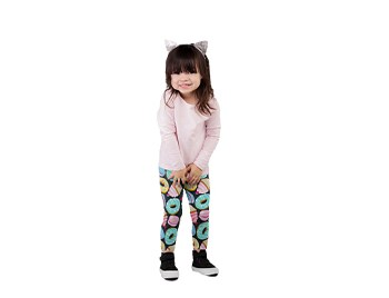TWO LEFT FEET KID'S LEGGING DREAMS SM