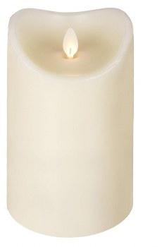 """LUXURYLITE LED IVORY PILLAR 3.75' X 7"""""""