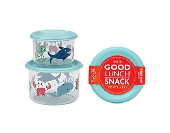 OCEAN SET/2 SNACK CONTAINERS