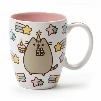 PUSHEEN CELEBRATE MUG 12OZ