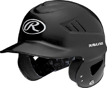RAWLINGS COOLFLO BATTING HELMET BLACK