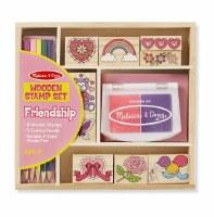MELISSA & DOUG STAMP SET FRIENDSHIP