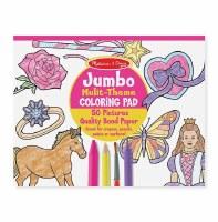 MELISSA & DOUG PK   JUMBO COLORING PAD