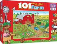 101PC PUZZLE THINGS TO SPOT ON A FARM