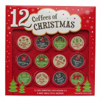12 COFFEES OF CHRISTMAS
