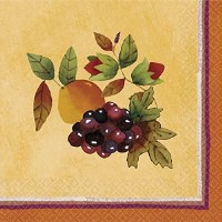 16CT NAPKINS THANKSGIVING MEDLEY