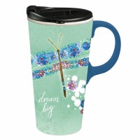 17oz CERAMIC TRAVEL CUP DREAM BIG