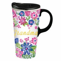 17oz CERAMIC TRAVEL CUP GRANDMA