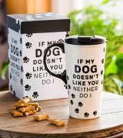 17oz CERAMIC TRAVEL CUP IF MY DOG DOESNT